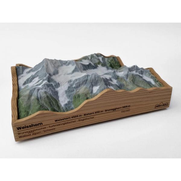 Weisshorn 4505 m, Weisshorngruppe • Walliser Alpen, Zwitserland