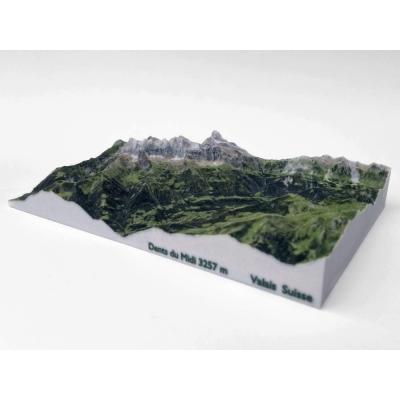 Dents du Midi 3257 m, Portes du Soleil • Walliser Alpen, Zwitserland