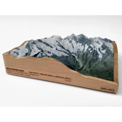 Mischabelgruppe, Saas-Fee • Walliser Alpen, Zwitserland
