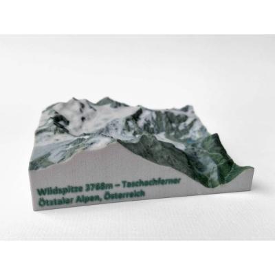 Wildspitze 3768 m, Taschachferner • Ötztaler Alpen, Oostenrijk